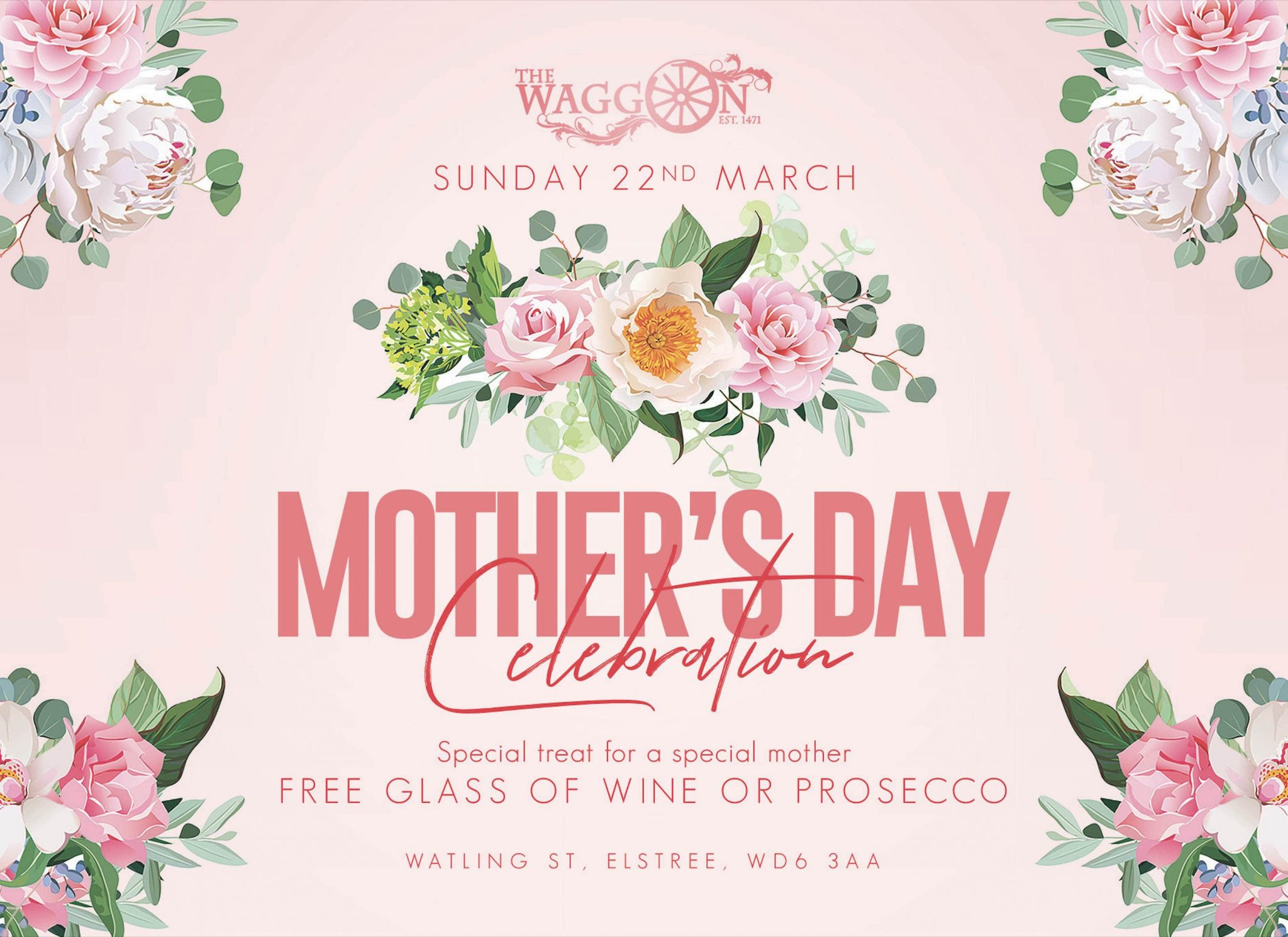 Mothers Day Reservations